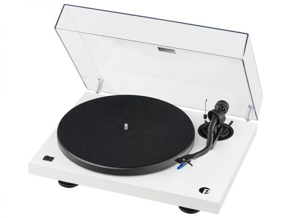 Giradischi Pro-ject Dubut III S Audiophile white con cappa