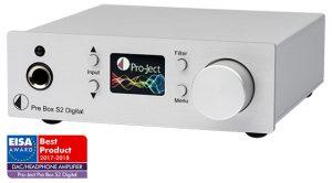 Preamplificatore stereo Pro-Ject Pre Box S2 Digital