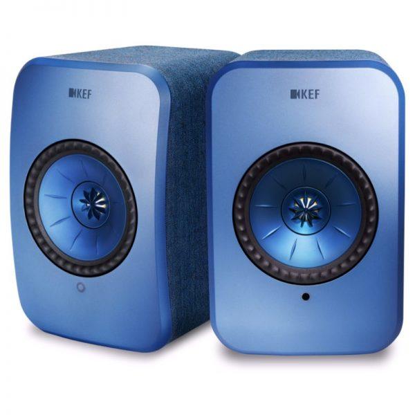 Diffusori attivi Kef LSX denim blue