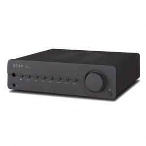 Amplificatore integrato con Dac Quad Vena Lancaster Gray fronte