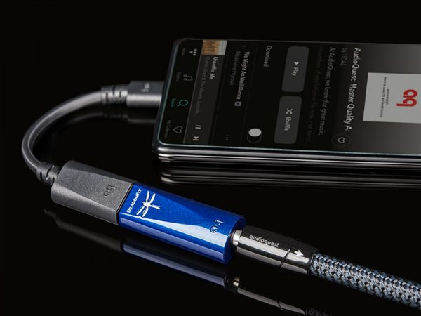 DAC Audioquest DragonFly Cobalt per android