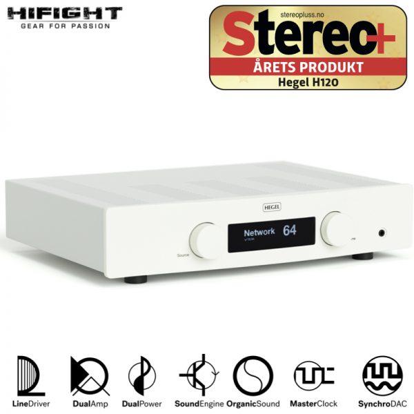 Amplificatore integrato Hegel H120 white