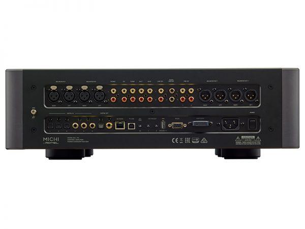Pre amplificatore stereo Rotel Michi P5 connessioni