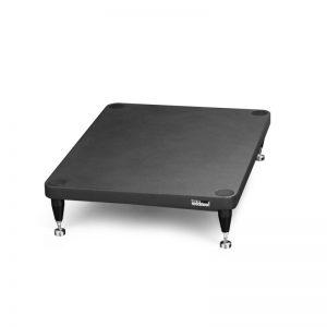 Base per amplificatori di potenza Solidsteel S3-A nera