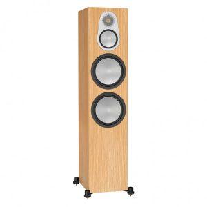 Diffusore da pavimento Monitor Audio Silver 500 6G natural oak