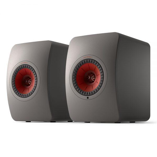 Sistema attivo Kef LS50 Wireless II grigio titanio