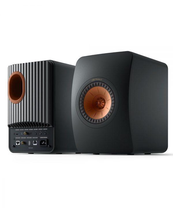 Sistema attivo Kef LS50 Wireless II nero carbonio