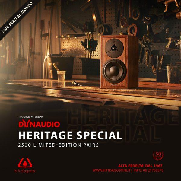 Dynaudio Heritage Special, diffusori da stand in serie limitata-2600